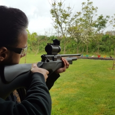 Air rifle and pistol shooting in derbyshire