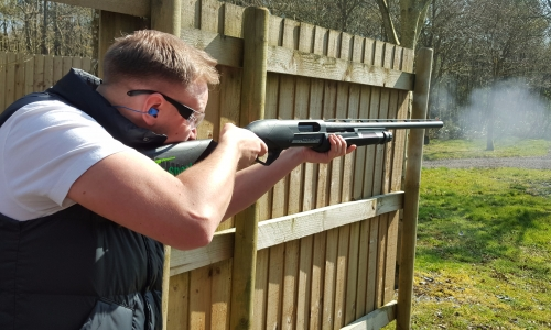 Clay Shooting with Pump Action Shotguns £36