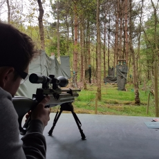 sniper shooting experience stag party idea leicestershire