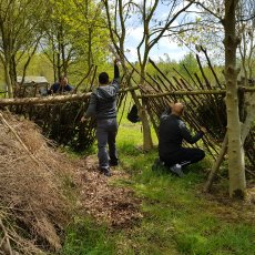 shelter building in leicestershire