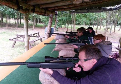 Funfair Air Rifle Range