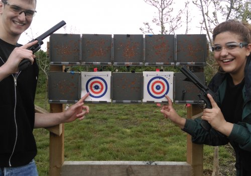 Air Rifle and Pistol Shooting £32