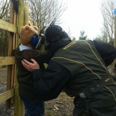 childrens clay shooting lessons Midlands