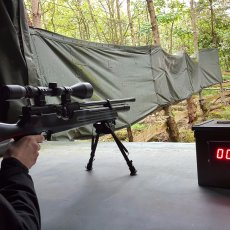 sniper shooting experience stag party idea Derbyshire
