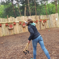 Axe Throwing Experience leicestershire