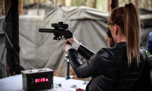 Zombie Pistol Shooting