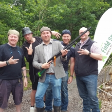 pump action clay shooting experience hen party ideas