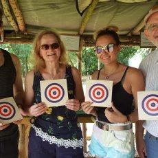 funfair air rifle shooing range experience derbyshire
