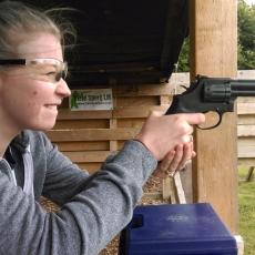 pistol shooting experience
