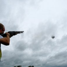 pump action clay shooting experience
