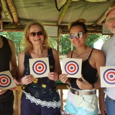 funfair air rifle shooing range experience derbyshire