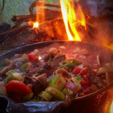 campfire cooking experience