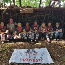 bushcraft experience in derbyshire