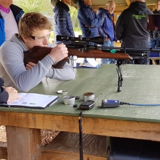 Rifle speed shooting experience leicestershire