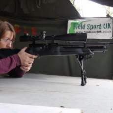 sniper shooting experience party idea Derbyshire