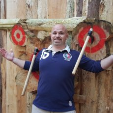 Axe Throwing Experience stag party