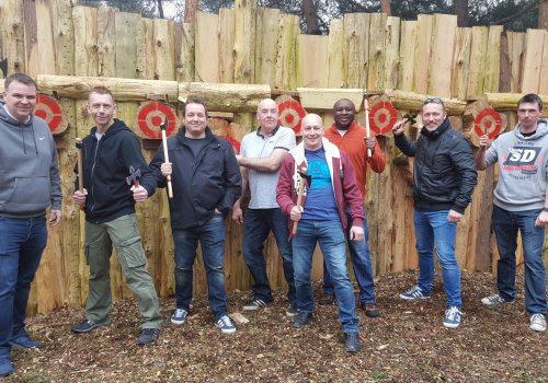 Axe Throwing and Clay Shooting