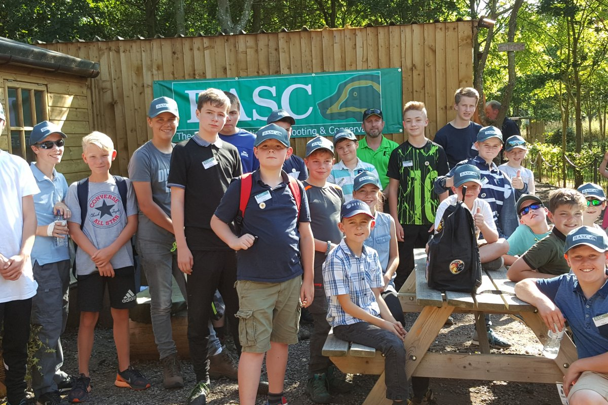 Basc young shots learning days