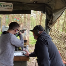 zombie shooting package derbyshire