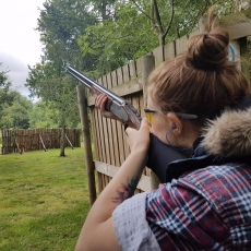air rifle pistol and clay shooting experience