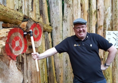 Axe throwing & Archery Package £42