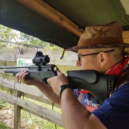 Moving Target Air Rifle Shooting Experience