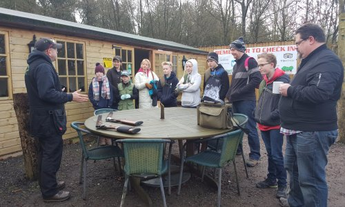 Kids Clay Shooting Lessons £25