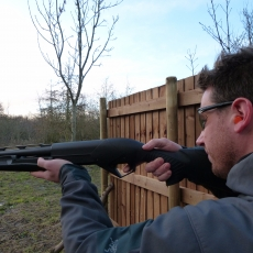 pump action clay shooting experience stag party ideas