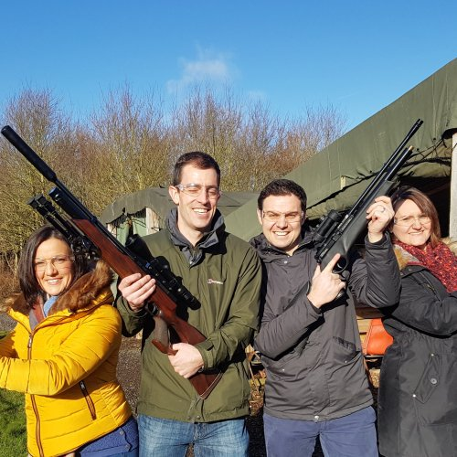 Air Rifle And Pistol Shooting Experience Derbyshire