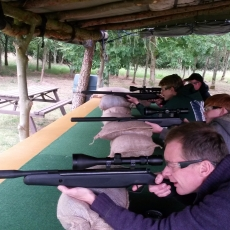 funfair air rifle shooing range experience leicestershire