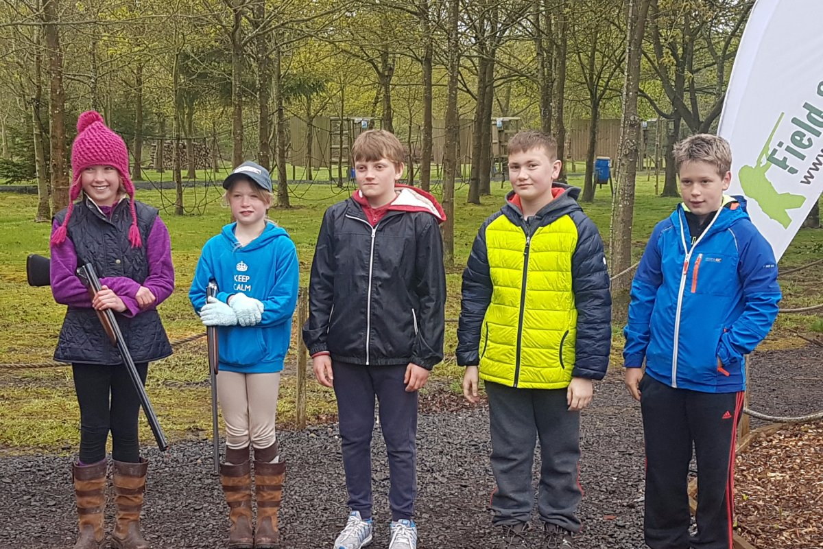 childrens clay shooting lessons