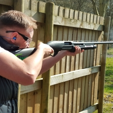 pump action clay shooting experience midlands