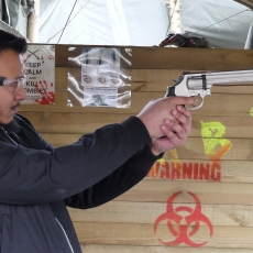 zombie shooting package  leicestershire