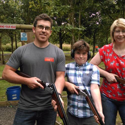 childrens clay shooting lessons leicestershire