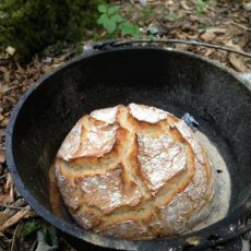 Campfire bread making leicestershire